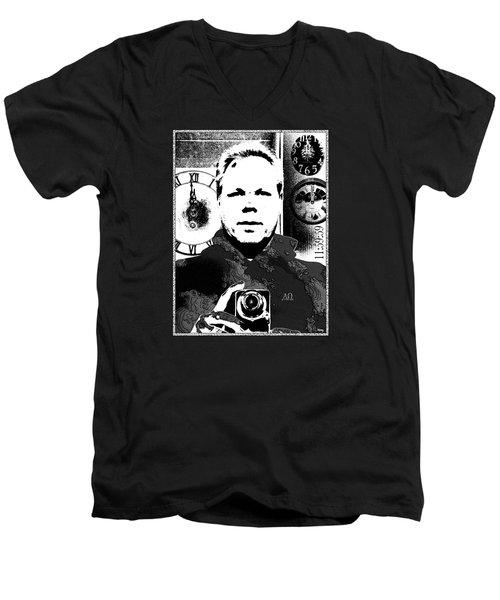 Revelatory Perception Men's V-Neck T-Shirt