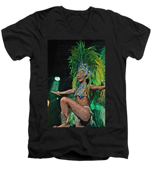 Rio Dancer I A Men's V-Neck T-Shirt