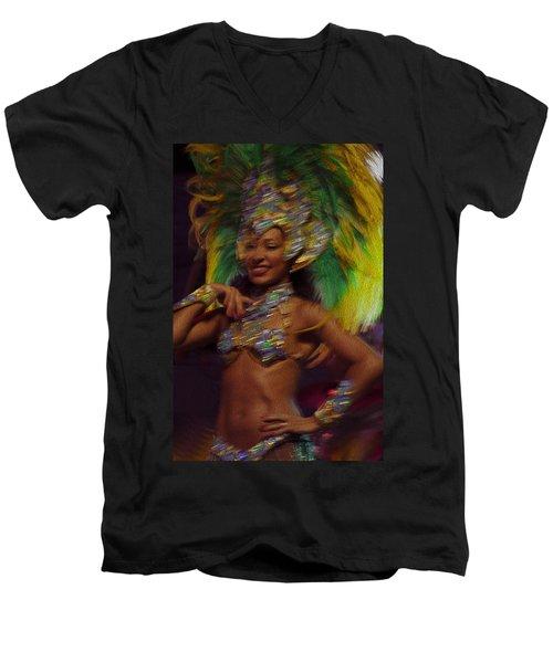 Rio Dancer IIi A Men's V-Neck T-Shirt