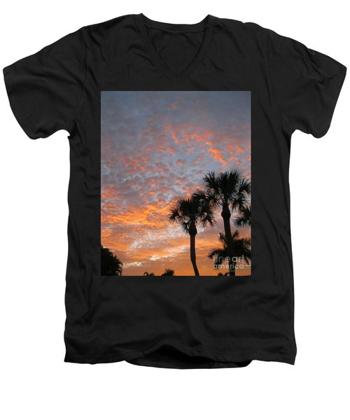 Rise And Shine. Florida. Morning Sky View Men's V-Neck T-Shirt