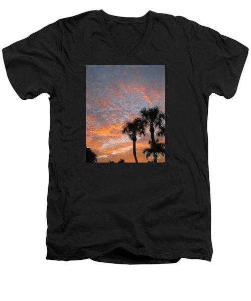 Rise And Shine. Florida. Morning Sky View Men's V-Neck T-Shirt
