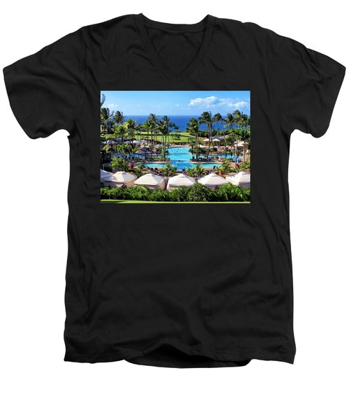 Ritz Carlton 17 Men's V-Neck T-Shirt