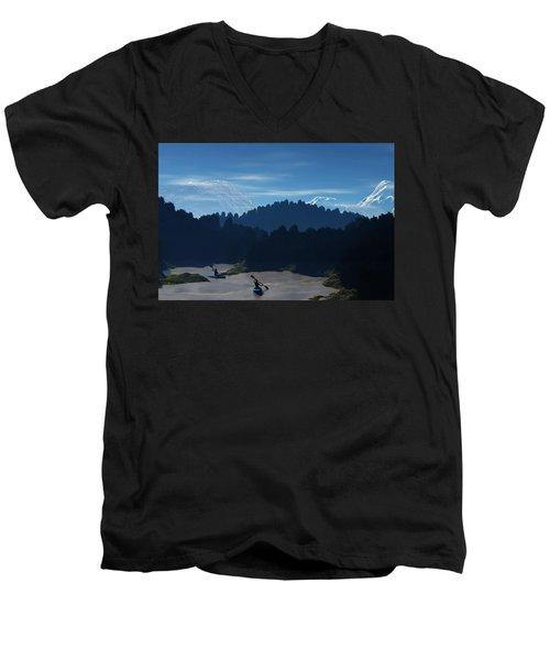 River Adventure Men's V-Neck T-Shirt