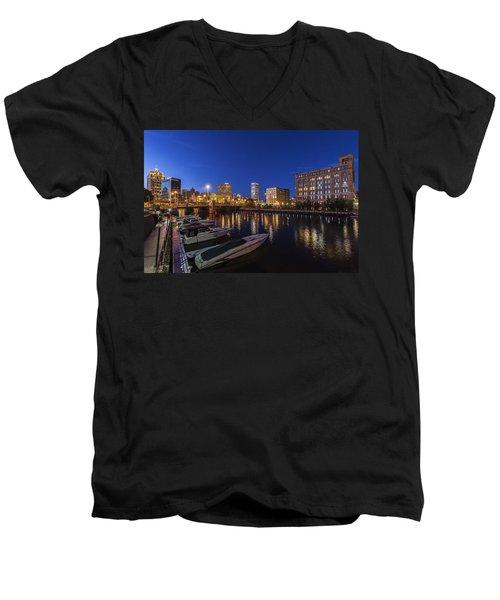River Nights Men's V-Neck T-Shirt