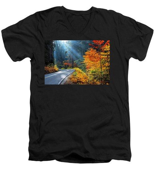 Road To Glory  Men's V-Neck T-Shirt