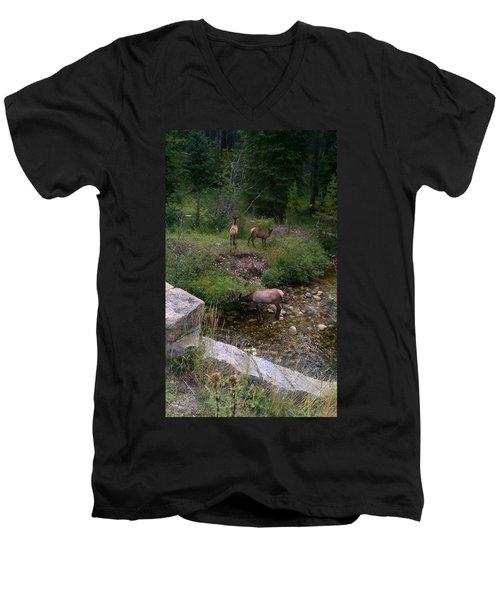 Roadside Luncheon Men's V-Neck T-Shirt