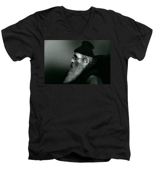 Rob Profile Redux Duotone Men's V-Neck T-Shirt