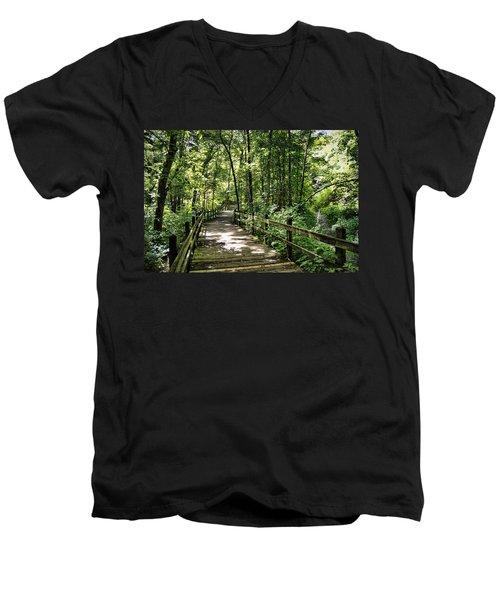 Rockbridge Summer Men's V-Neck T-Shirt