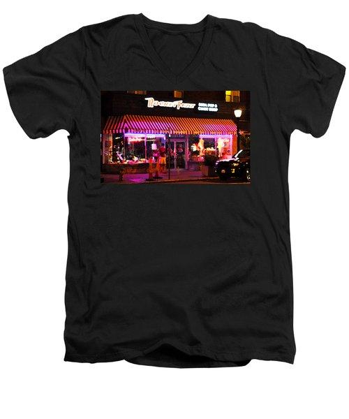 Rocket Fizz Men's V-Neck T-Shirt