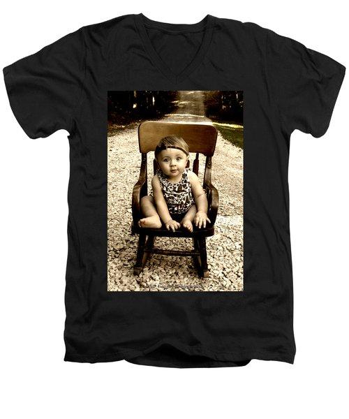 Rocks And Chair Men's V-Neck T-Shirt
