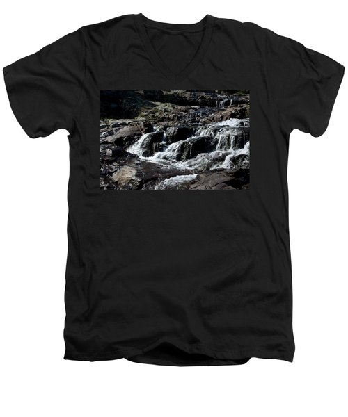 Rocky Falls Men's V-Neck T-Shirt