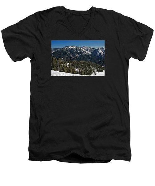 Rocky Mountain Top Men's V-Neck T-Shirt