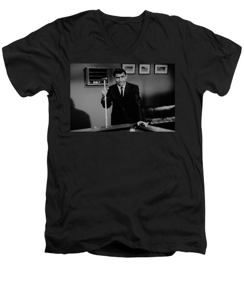 Rod Serling Men's V-Neck T-Shirt