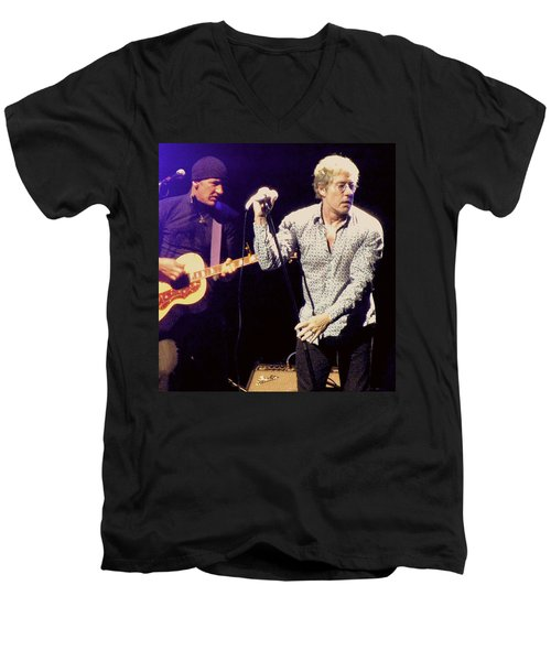 Roger Daltrey And The Who Men's V-Neck T-Shirt