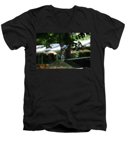 Rolls Royce Men's V-Neck T-Shirt