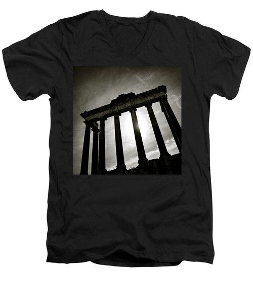 Roman Forum Men's V-Neck T-Shirt