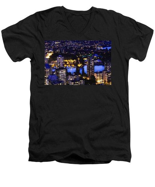 Romantic Kits Beach - Mdxxxviii Men's V-Neck T-Shirt