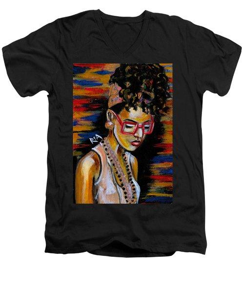 Romy Men's V-Neck T-Shirt