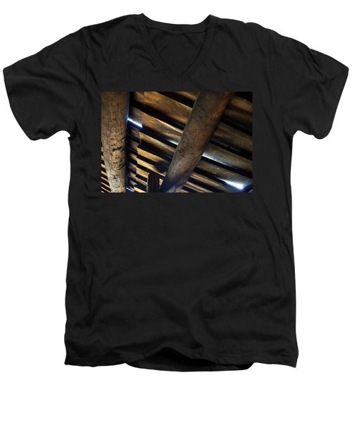 Roofage Men's V-Neck T-Shirt
