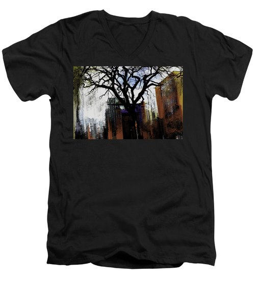 Rooted In The Unstable Men's V-Neck T-Shirt