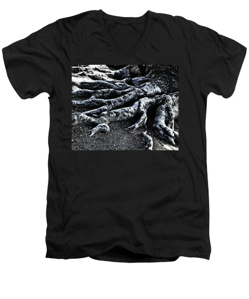 Roots Men's V-Neck T-Shirt