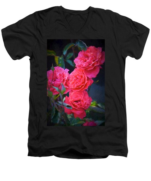 Rose 138 Men's V-Neck T-Shirt