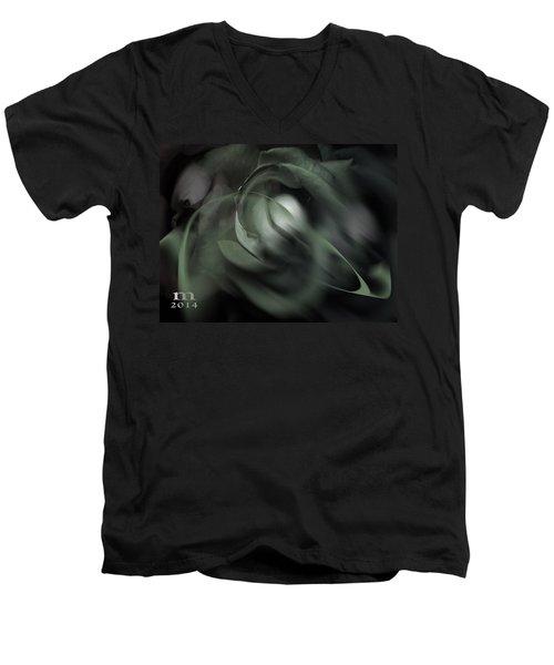 rose 18X24 1 Men's V-Neck T-Shirt