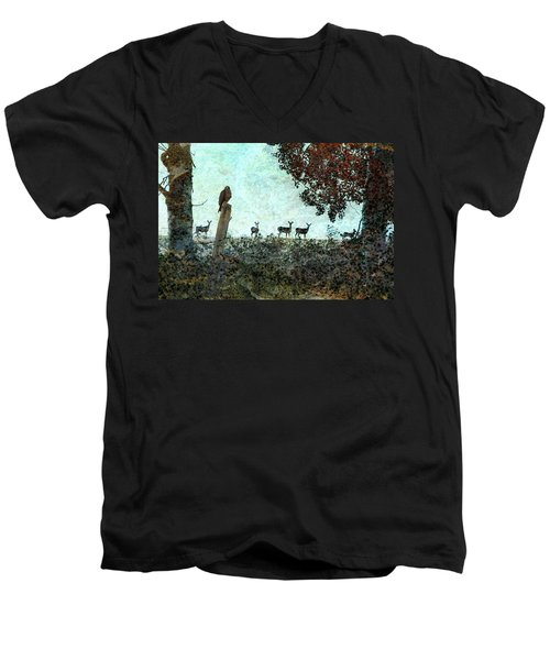 Rose Hill - Autumn Men's V-Neck T-Shirt