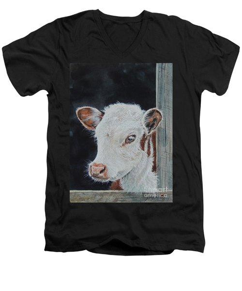 Rosebud. Sold Men's V-Neck T-Shirt