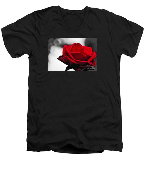 Rosey Red Men's V-Neck T-Shirt