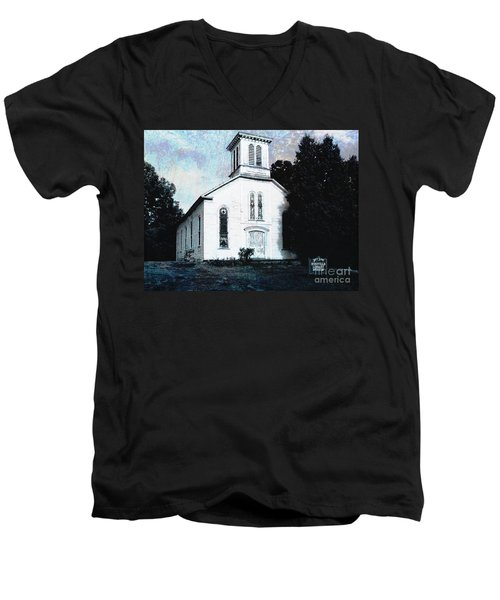 Rossville Church And Cemetery Men's V-Neck T-Shirt