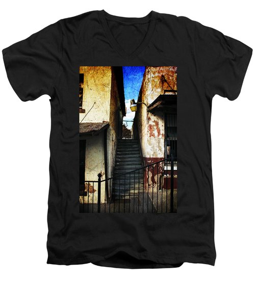 Rough Climb Men's V-Neck T-Shirt