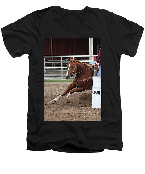 Rounding Third Men's V-Neck T-Shirt