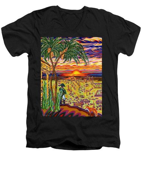 Ruins Of Empires Men's V-Neck T-Shirt by Robert SORENSEN