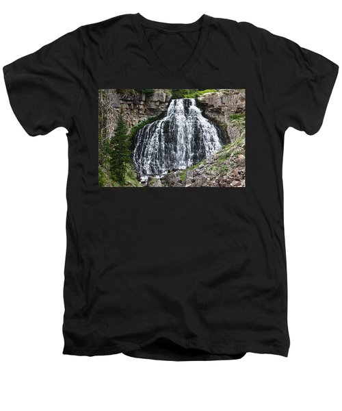 Rustic Falls Men's V-Neck T-Shirt