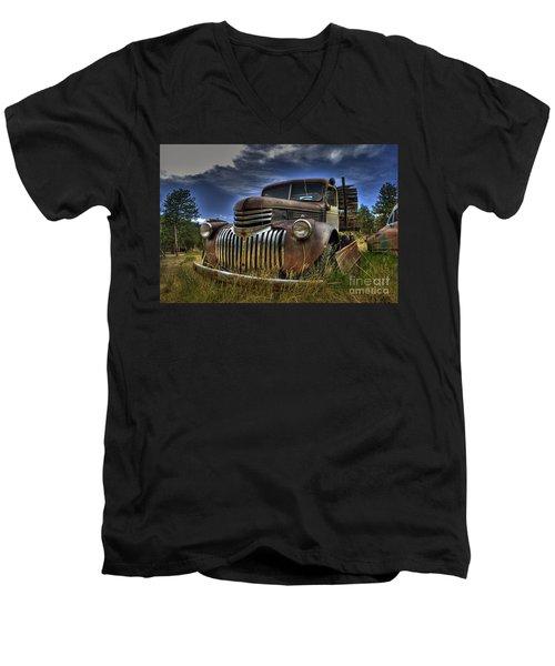 Rusty Relic Men's V-Neck T-Shirt