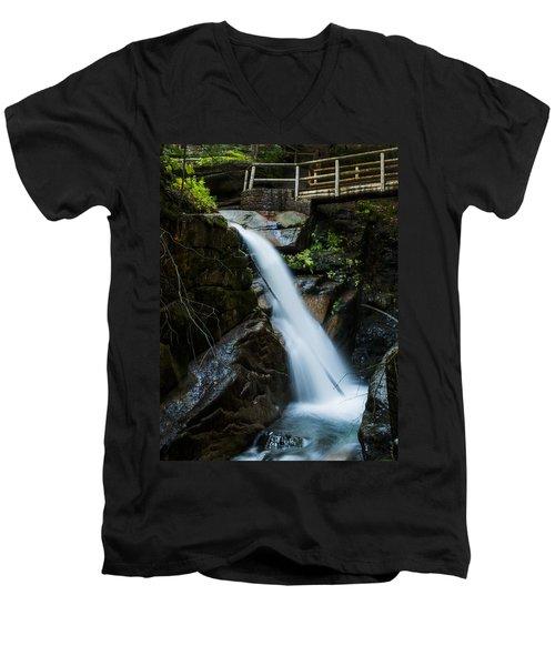 Sabbaday Falls Men's V-Neck T-Shirt