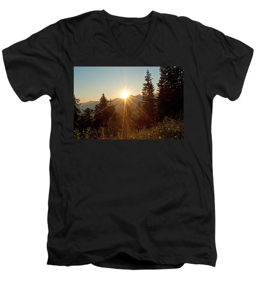 Sabbath Sunset Men's V-Neck T-Shirt