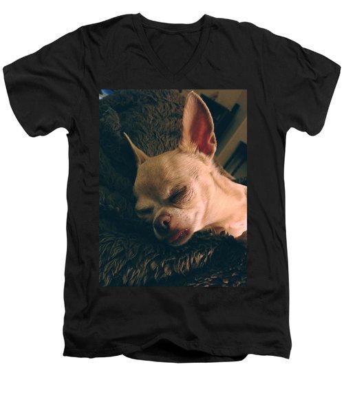 Sacked Out Men's V-Neck T-Shirt
