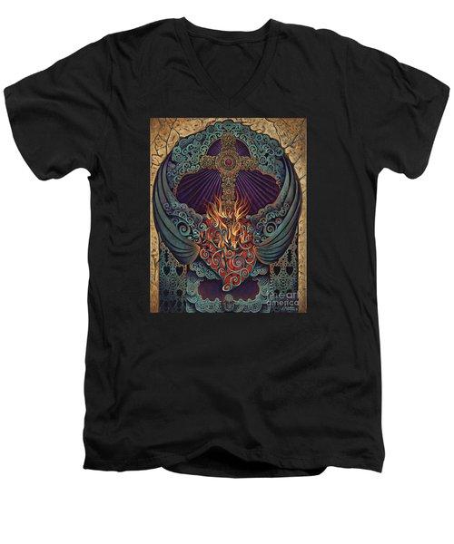 Sacred Heart Men's V-Neck T-Shirt