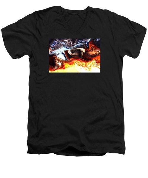 Sacrifice Men's V-Neck T-Shirt by Richard Thomas