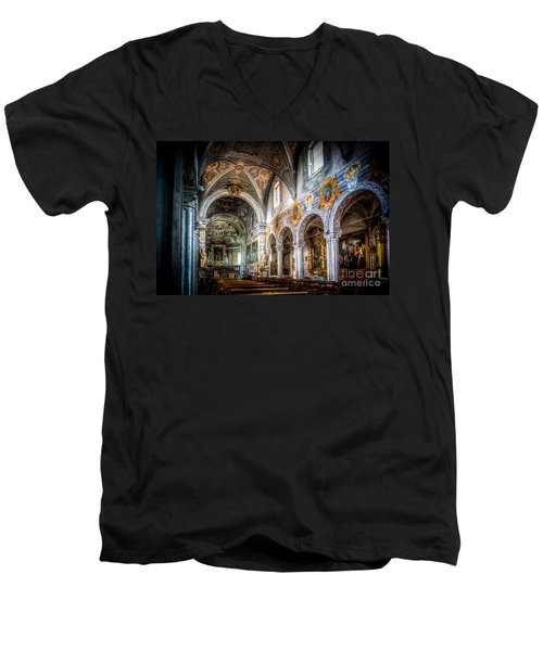 Saint George Basilica Men's V-Neck T-Shirt