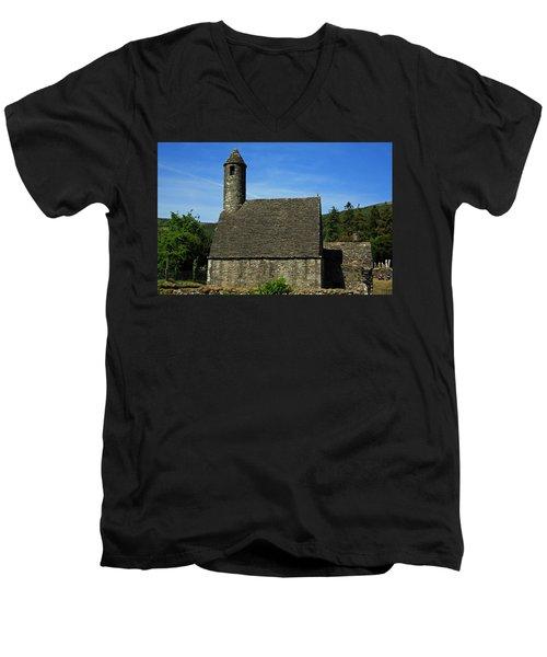 Saint Kevin's Church Men's V-Neck T-Shirt