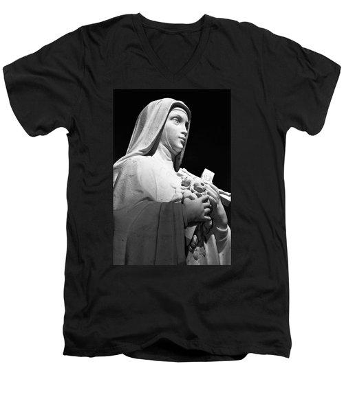 Saint Teresa Men's V-Neck T-Shirt