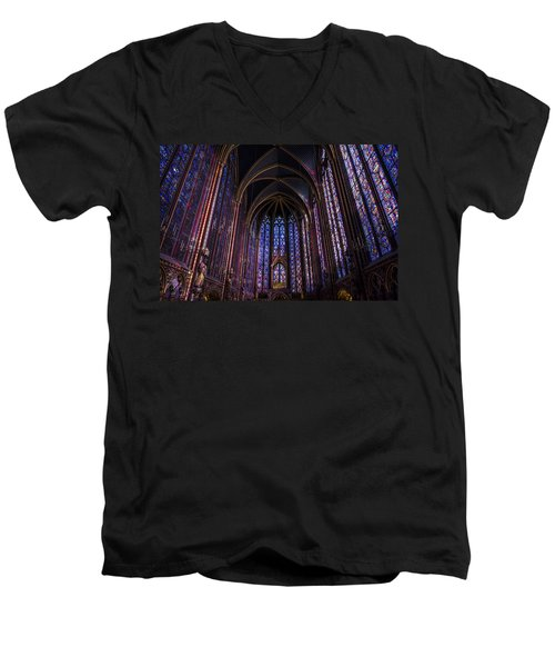 Sainte Chapelle Men's V-Neck T-Shirt