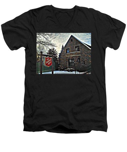 Salvation For The Masses Men's V-Neck T-Shirt