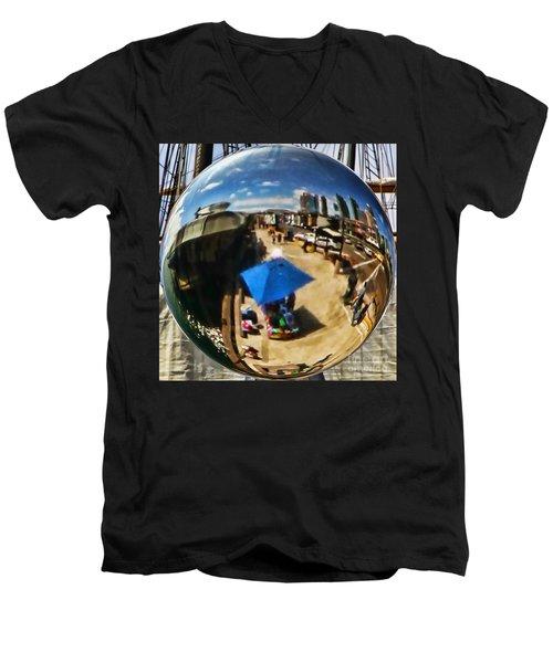 San Diego Round Up By Diana Sainz Men's V-Neck T-Shirt