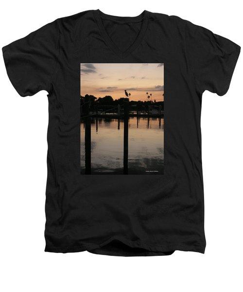 Sarasota Sunset Men's V-Neck T-Shirt