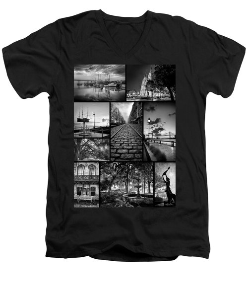Scenes From Savannah Men's V-Neck T-Shirt