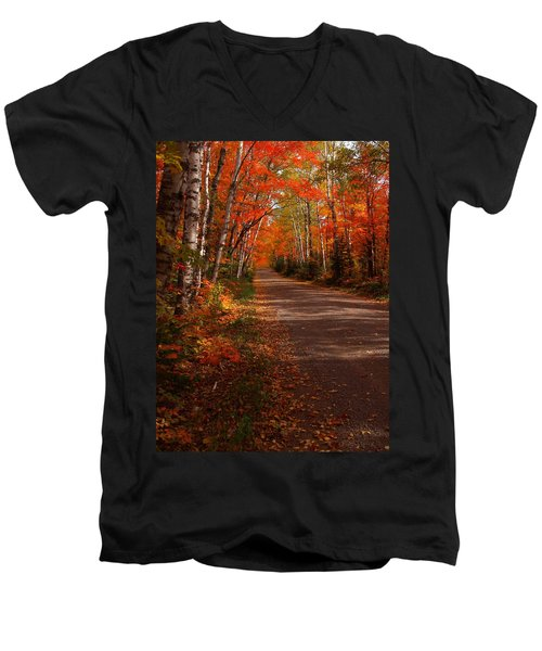 Scenic Maple Drive Men's V-Neck T-Shirt